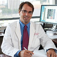 Dr. Mark Burkard, MD, PhD. Dr. Burkard is the Primary Investigator of the Outliers study.